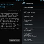 Android 4.3 now rolling out for Galaxy S4 Google Play Edition