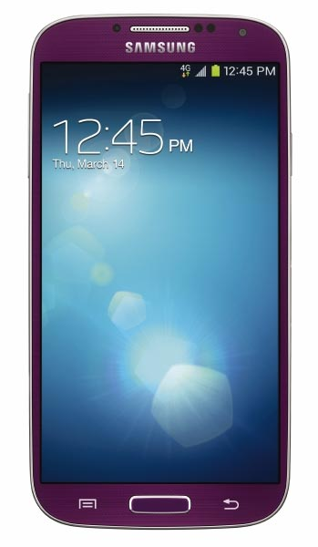 Purple Mirage Galaxy S4 on Sprint