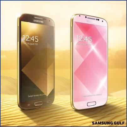 Gold Galaxy S4