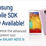 Samsung Mobile SDK combines all individual SDKs