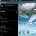 Android 4.3 for Galaxy Note II (GT-N7100) leaked