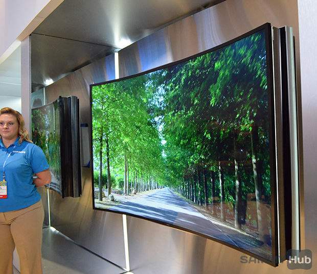 Samsung will release 105-inch Curved UHD TV and 85-inch ...
