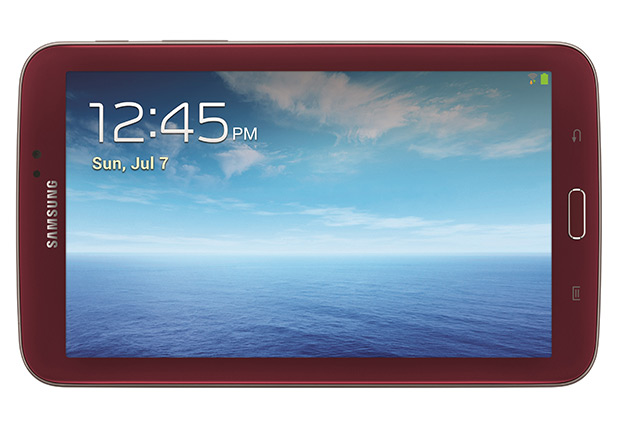 Garnet Red Galaxy Tab 3 7.0