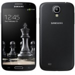 Samsung Galaxy S4 and S4 mini Black Edition features faux leather back