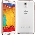 Rose Gold White Galaxy Note 3 released on Verizon