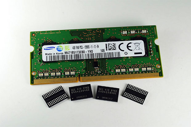 ddr3 30nm Samsung starts mass producing 20nm based 4Gb DDR3 RAM
