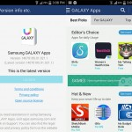 Samsung Apps gets an update, changes itself to Galaxy Apps