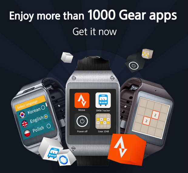 Samsung Gear 1,000 apps