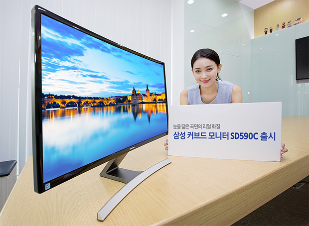Samsung SD590C Curved Monitor