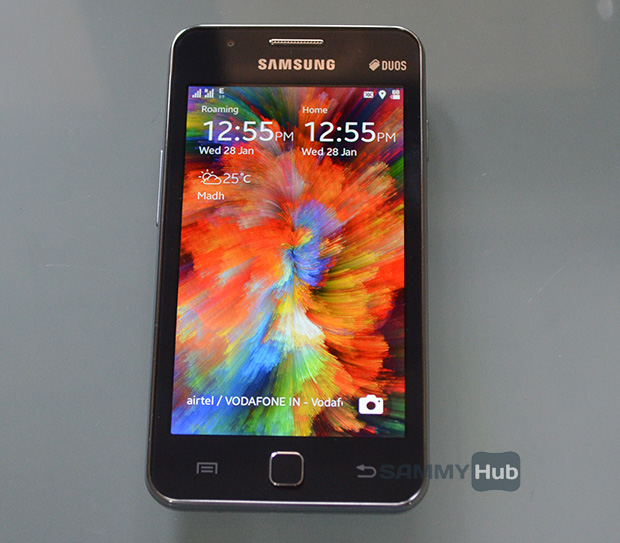 how to change samsung z1 to android