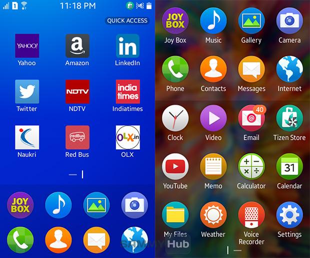 Samsung Z1 Review Sammy Hub