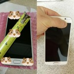 Leaked Galaxy S6 pictures suggest glass back, no microSD card slot thumbnail