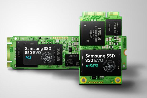 Samsung 850 EVO M.2 and mSATA SSD