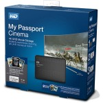 WD My Passport Cinema pre-loads 4K movies for Samsung TVs thumbnail