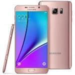 Pink Gold Galaxy Note5