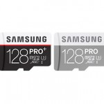 Samsung unveils 128GB PRO Plus microSD cards thumbnail