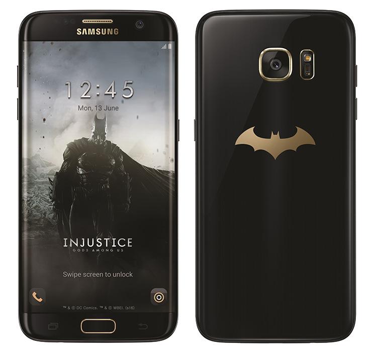 Galaxy S7 edge Injustice Edition