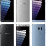 This image gives a clear view of the Galaxy Note7 thumbnail