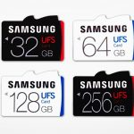 Samsung's UFS memory cards have a read speed of 530MB/s