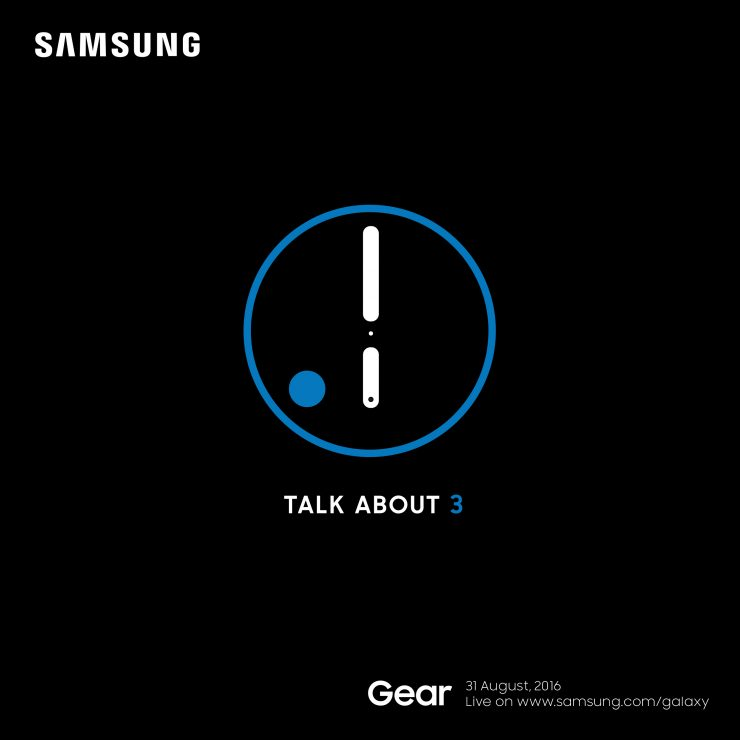 Samsung Gear S3 to be unveiled at IFA 2016