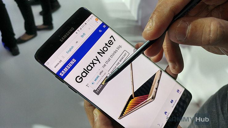 Galaxy Note7 could make a return as a refurbished phone