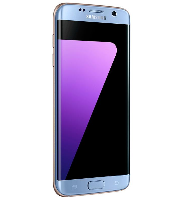 Samsung S9 Edge Coral Blauw