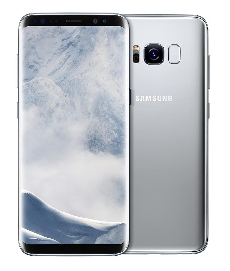 Galaxy S8 Arctic Silver