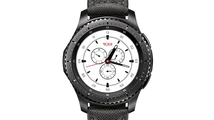 Samsung launches Gear S3 frontier TUMI Special Edition