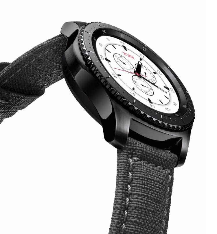 Samsung Gear S3 frontier TUMI Special Edition