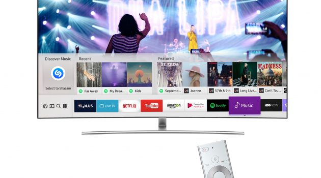 Samsung adds music discovery app Shazam to its Smart TVs
