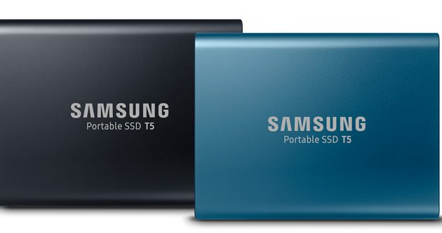 Samsung launches faster, smaller portable SSD