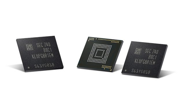 Samsung starts mass producing 512GB flash storage for mobile devices