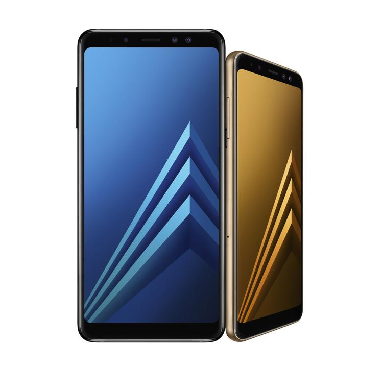 Galaxy A8, A8+ (2018)