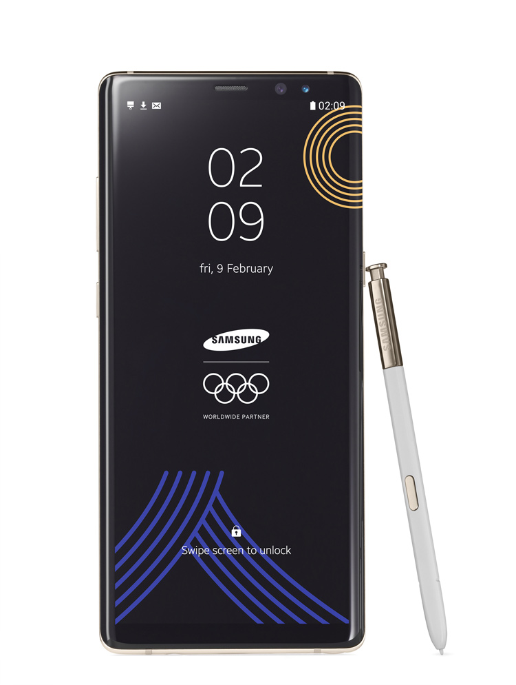 Galaxy Note8 Winter Olympic Special Edition