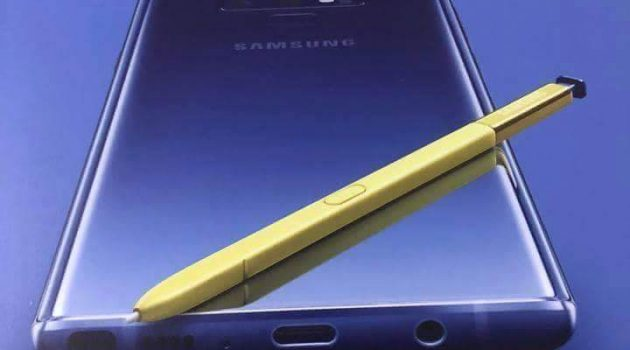 Samsung Note 9 leaked poster confirms headphone jack and golden colour S-Pen (update: price)