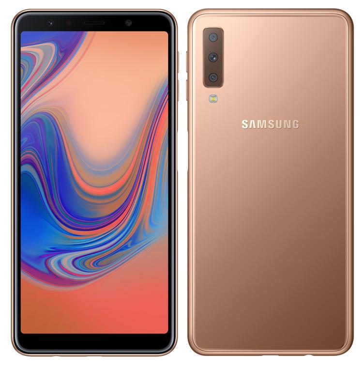 Galaxy A7 2018 Gold