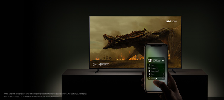 Apple AirPlay 2 on Samsung TV