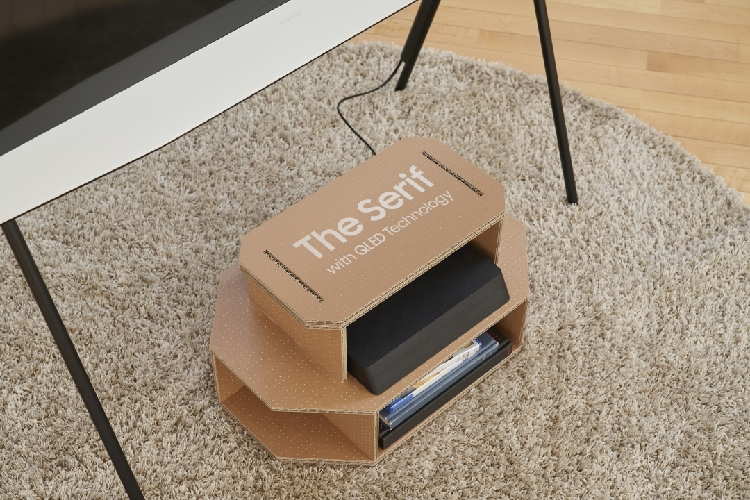 Eco Packaging for Lifestyle TVs