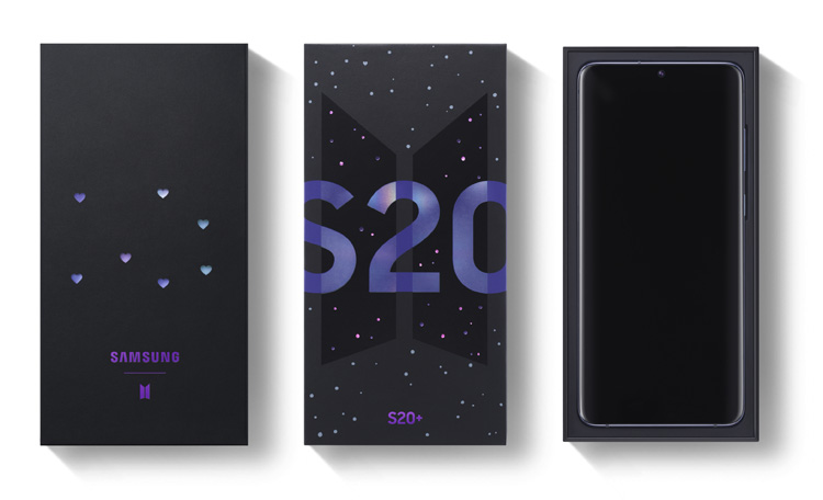 Galaxy S20+ BTS Edition
