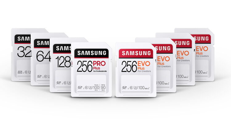 Samsung Pro Plus and Evo Plus