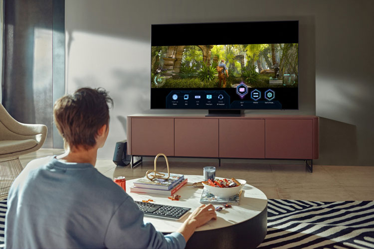 Game Bar on Samsung Neo QLED TV