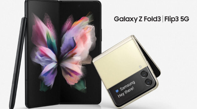 Galaxy Z Fold3 and Galaxy Z Flip3